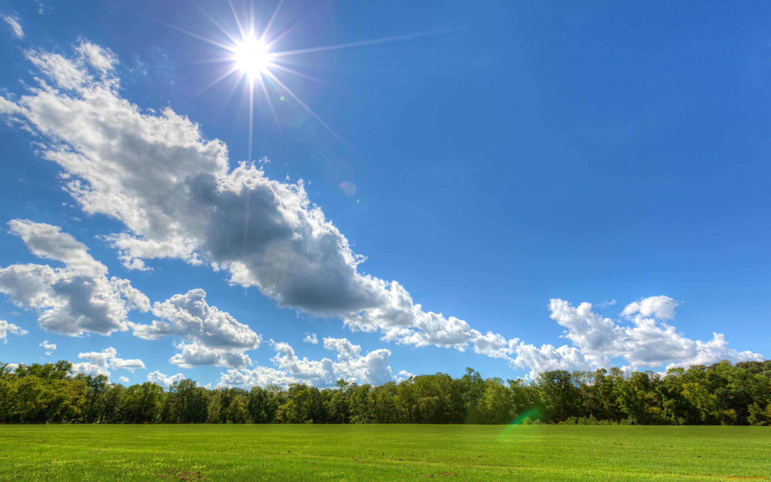Картинки природы с небом